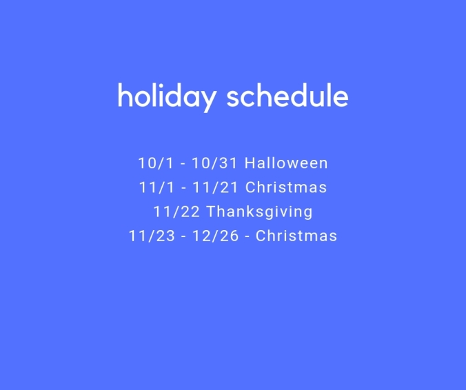 holiday schedule (2)